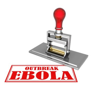 outbreak ebola beautiful stamp