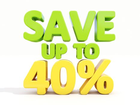 Save up to 40%