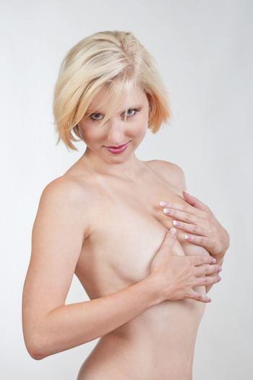sexy blond girl