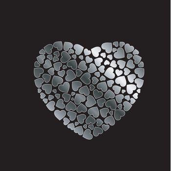 silver heart fillings