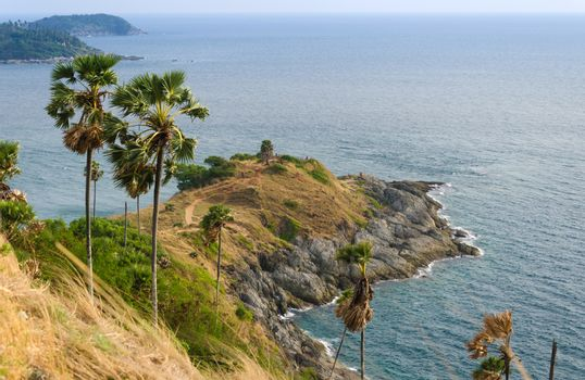 Phrom Thep cape, landmark at Phuket province