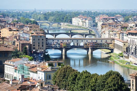 Florence with ponte vecchio