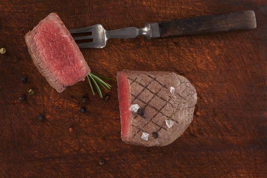 Filet mignon, sirloin steak.