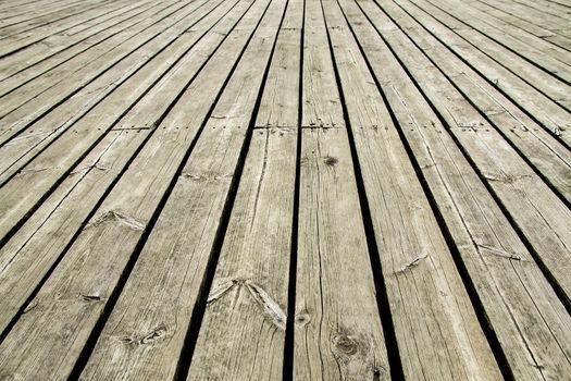 Old wooden dock background