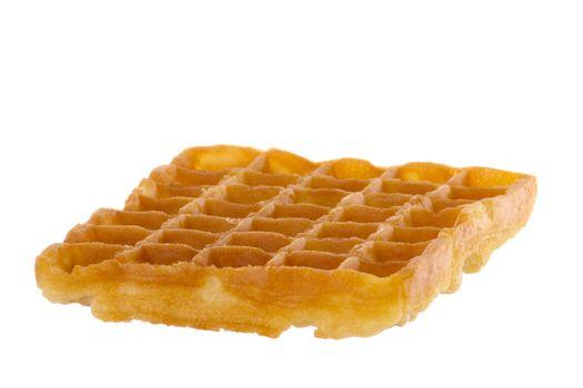 Freshly baked waffle