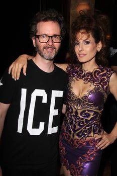 Dan Richter, Kerri Kasem at the Dan Richter Fashion Show as part of L.A. Fashion Week, Taglyan Cultural Center, Los Angeles, CA 10-14-14/ImageCollect