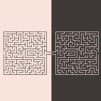 Confrontation labyrinths