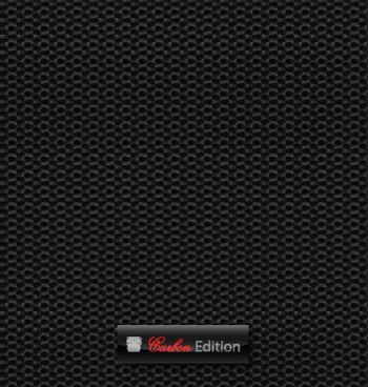 Delicate carbon fibre vector background for creative design tasks
