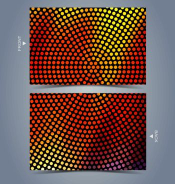 Colorful abstract technology background for creative design