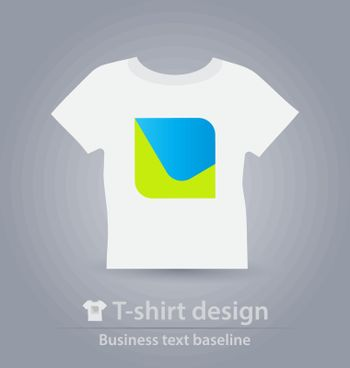 T-shirt design business icon for creative tasks