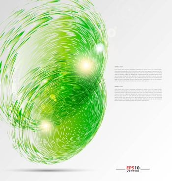 Abstract vector background template for creative design