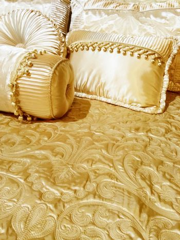 Luxurious silky bedding