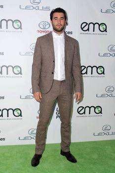 Joshua Bowman at the 2014 Environmental Media Awards, Warner Bros. Studios, Burbank, CA 10-18-14/ImageCollect