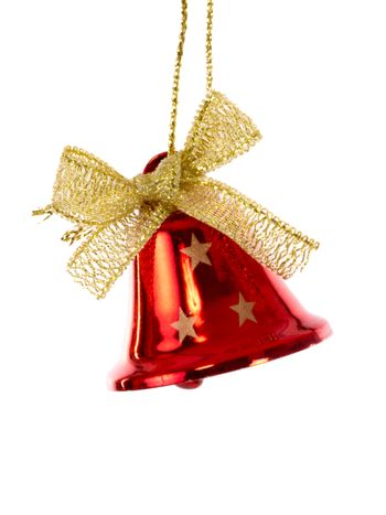 Red christmas bell