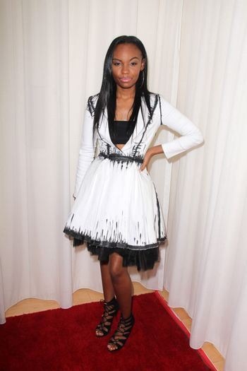 Sierra McClain at the Creativ PR Collections at Fashion Week, Mondrian, West Hollywood, CA 10-20-14/ImageCollect