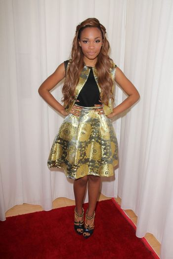 Lauryn McClain at the Creativ PR Collections at Fashion Week, Mondrian, West Hollywood, CA 10-20-14/ImageCollect