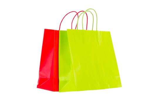Shopping bags brightened