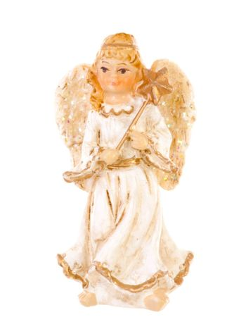 Christmas angel brightened