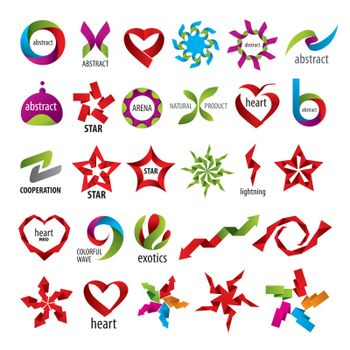 biggest collection of vector logos abstraction