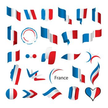 biggest collection of vector flags of France