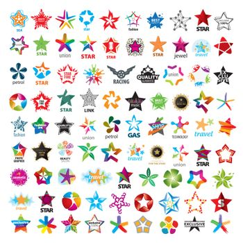 biggest collection of vector logos five-pointed stars