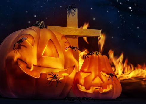 Creepy Halloween night