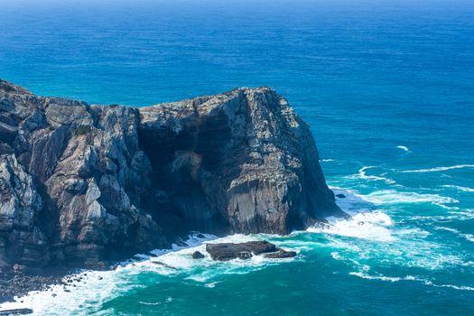 Atlantic ocean in Algarve, Portugal