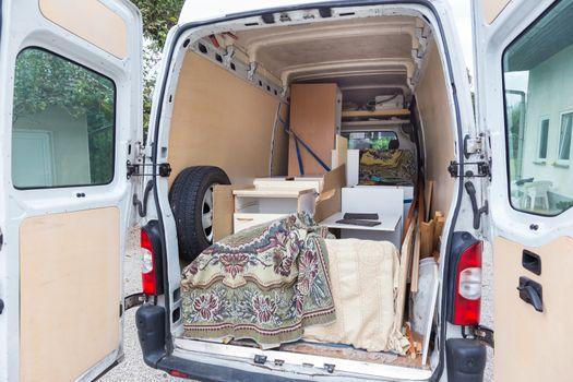 Moving Van.
