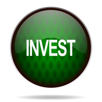 invest green internet icon