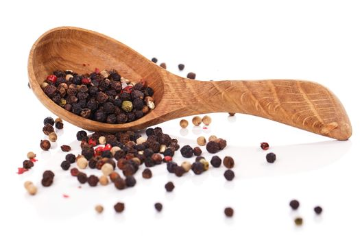 Peppercorn with a spoon