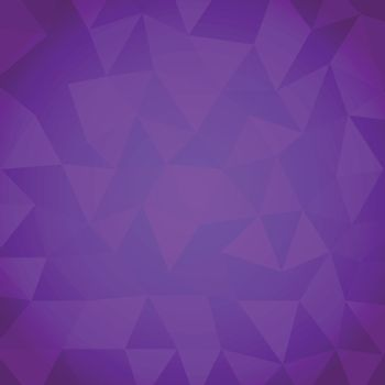 Abstract triangle with violet background, stock vector