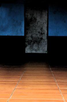 door and floor