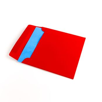 envelope with note