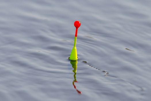 Fishing float floating