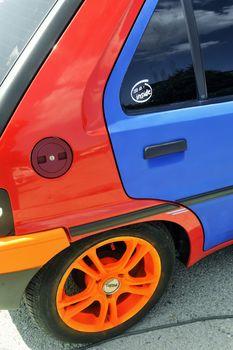 Car tuning exhibition
