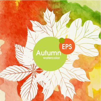 Creative Autumn Background