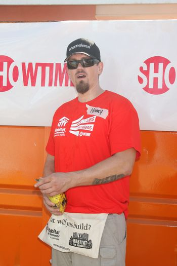 """Steve Howey at the Habitat for Humanity build by Showtime's """"House of Lies"""" and Shameless, Magnolia Blvd, Lynwood, CA 10-25-14 David Edwards/DailyCeleb.com 818-915-4440/ImageCollect"""