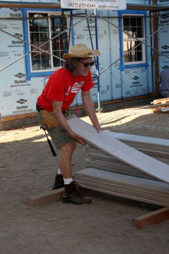 """William H. Macy at the Habitat for Humanity build by Showtime's """"House of Lies"""" and Shameless, Magnolia Blvd, Lynwood, CA 10-25-14 David Edwards/DailyCeleb.com 818-915-4440/ImageCollect"""