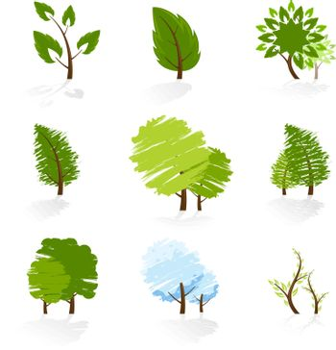 Tree Symbols Set
