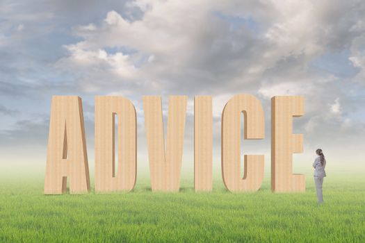 Concept of advice