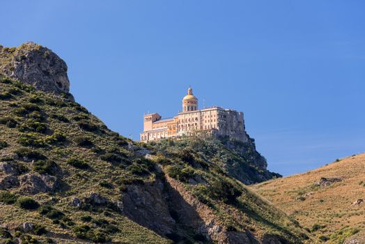 Religious building on Sicily in mountains
