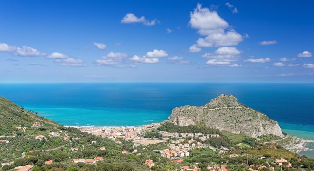 Bay in Cefalu Sicily