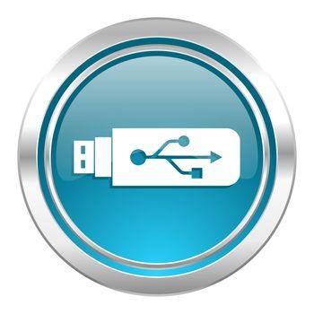 usb icon, flash memory sign
