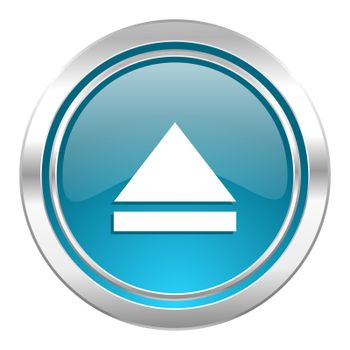 eject icon, open sign