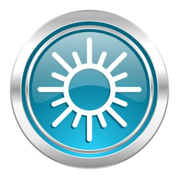 sun icon, waether forecast sign