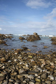 A rocky beach at Cape Agulhas, South Africa