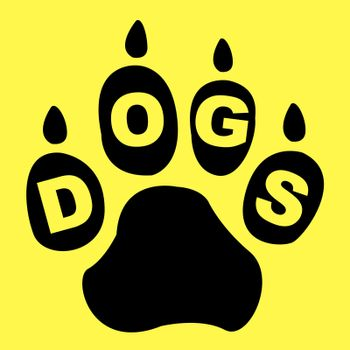 Dogs Paw Representing Pup Pets And Puppy