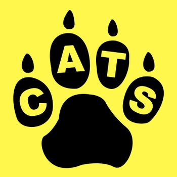 Cats Paw Showing Animal Friends And Creature