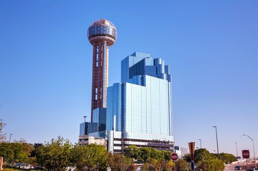 Downtown of Dallas