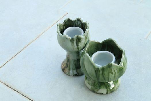 ceramic candlestick 3